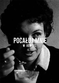 Plakat Pocałuj mnie w rewers