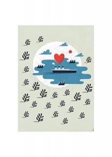 Plakat Love Boat
