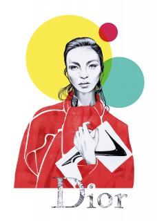 Plakat Dior