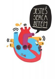 Plakat Jesteś serca bitem II