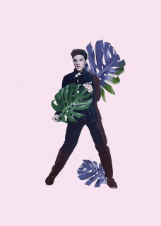 Plakat Elvis alive