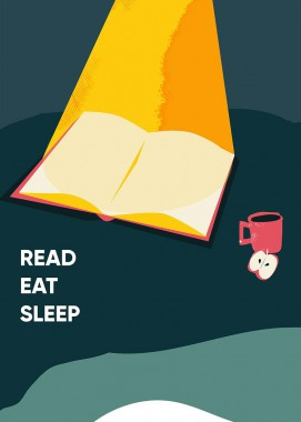 Read eat sleep