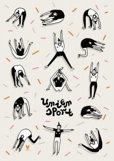 Plakat Umiem sport I