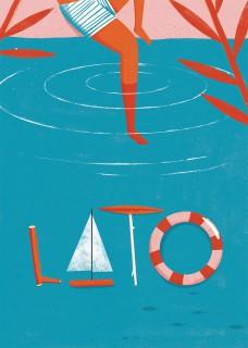 Plakat Lato
