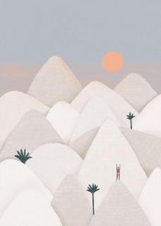 Plakat Powitanie słońca