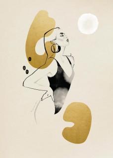 Plakat Gold II
