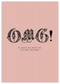 Plakat OMG