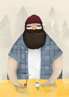 Plakat Lumberjack