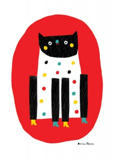 Plakat Kot