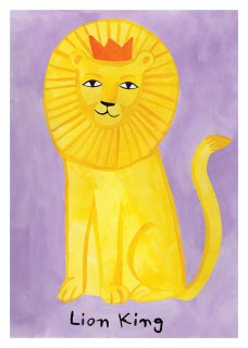 Plakat Lion King