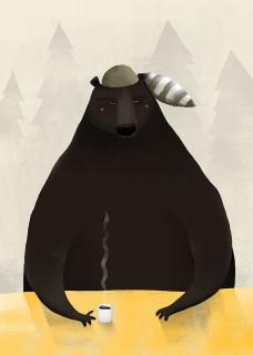 Plakat Bear