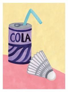 Plakat Cola