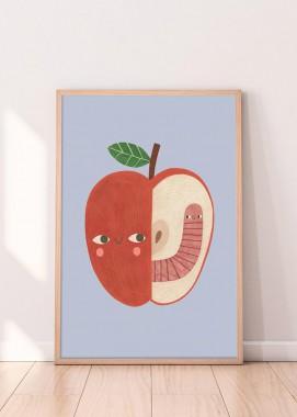 Apple & worm