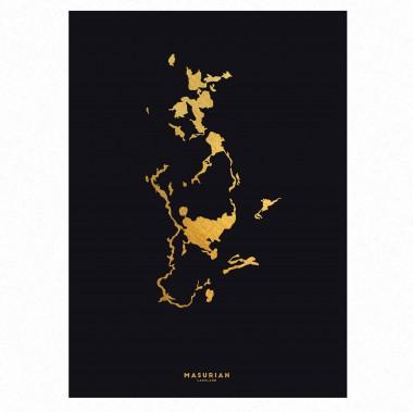 Kraina Wielkich Jezior Mazurskich gold