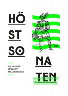Plakat Jesienna sonata
