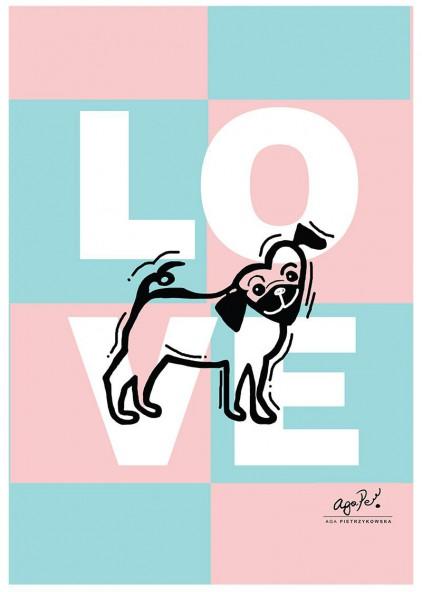 Mops love