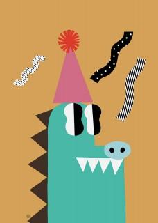 Plakat Krokodyl