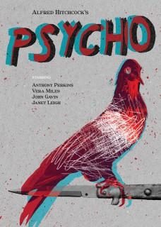 Plakat Psycho