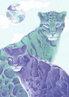 Plakat Leopardy