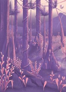 Plakat Kwiecista dżungla