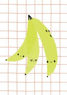 Plakat Banany