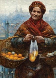 Plakat Pomarańczarka