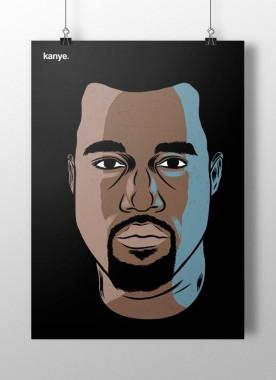 Grafika Kanye