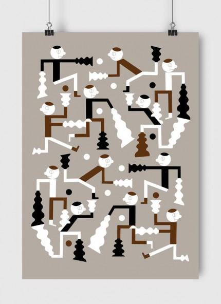 Grafika Move / Ruch