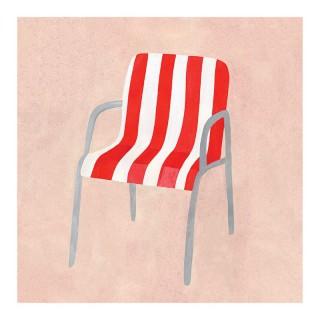 Plakat Letnie krzesło
