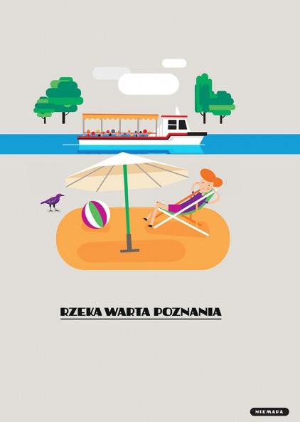 Rzeka Warta Poznania