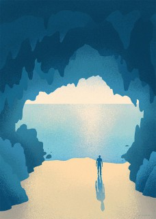 Plakat Jaskinia