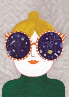 Plakat Cosmic glasses