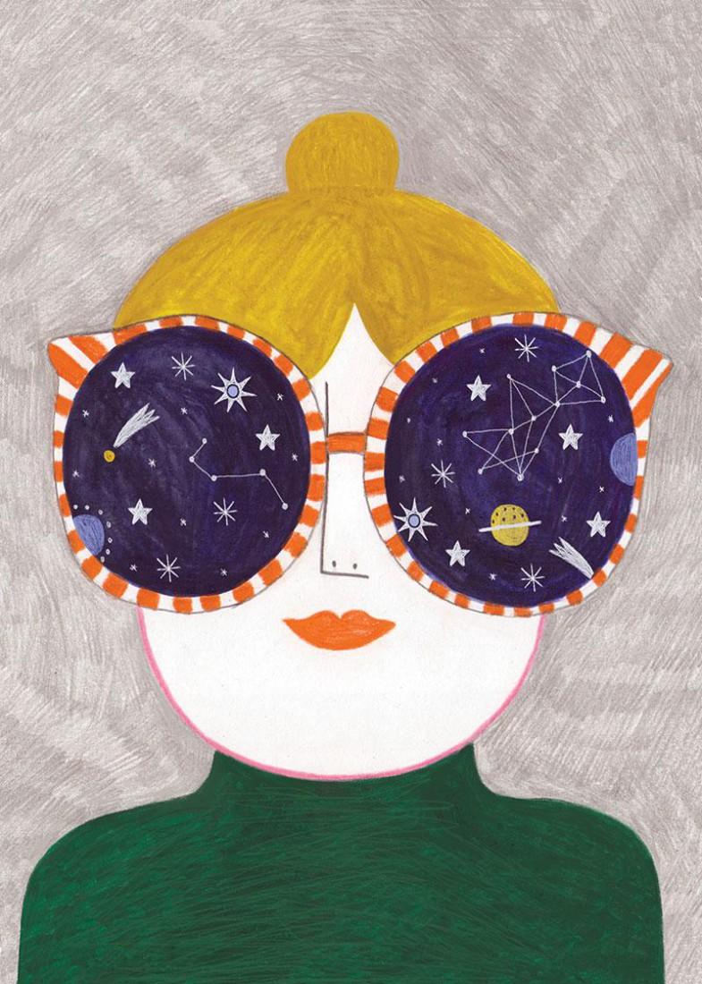 Cosmic glasses