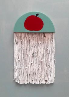 Dekoracja ścienna Meduza jabłko