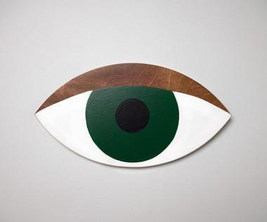 Oko butelkowa zieleń