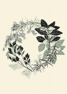 Plakat Herbs