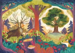 Plakat Władcy lasu